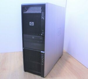 HP Z600 Workstation Windows Tower Intel Xeon Quad E5620 2.4 12GB 128GB SSD WiFi