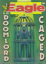 EAGLE #333 weekly British comic book August 6 1988 VG+ Action Force back cover