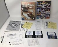 "Al Michaels Announces Hardball III & MLB Players Disk - PC IBM 3.5"" Floppy"