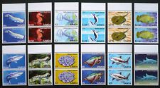 2 x Samoa 2014 Mi. 1144-1155 ** MNH Freimarken Fische Fish Sealife Mi. 110,-- €