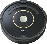 iRobot Roomba 650 Automatic Robotic Vacuum w/ Charging Dock & Virtual Wall Black