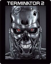 TERMINATOR 2 (Arnold Schwarzenegger) Blu-ray Disc, Steelbook NEU+OVP