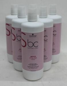 SCHWARZKOPF Bonacure pH4.5 Colour Freeze Micellar Sulfate-Free Shampoo 1L NEW x6