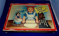 Vintage Childs Baking Set German Boxed Toy Cookware Komm Back Mit Mir