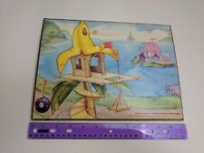 Vintage Colorforms Wuzzles PLAY MAT BOARD ONLY1985 Hasbro Disney *READ*