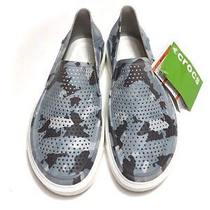 Crocs Citilane Roka Camo 2 Slip On Shoes Men's Size 7 Camouflage NWT