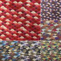 Baumwolle Stoff Japanischen Stil Bronzing Fish Scales DIY Kleidung Bastel Tuch