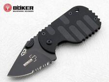 "Boker Magnum Subcom F Folder Knife 1 ⅞"" AUS8 S. Steel Blade and Black Handle"