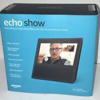 Barely Used Amazon Echo Show - Black In Retail Box - MINT CONDITION Model MW46WB
