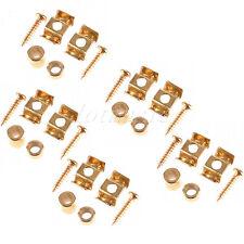 5 Set Gold String Tree Retainer Guide For Tele/Strat Guitar Body Custom Set