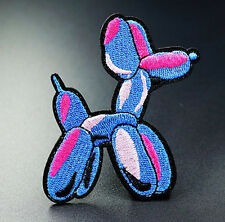 Balloon Dog Patch Embroidered Iron On Sew On Patches Badges Transfers Patch