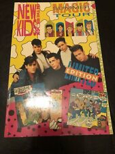 New Kids On The Block Nkotb 1990 Magic Summer Tour Comic Book
