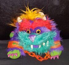 Vintage 1986 AMTOY My Pet Monster rark dur Vinyle Bouche Marionnette À Main