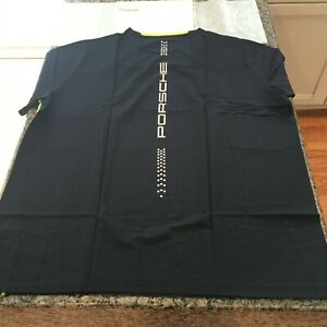 PORSCHE DESIGN SELECT MAGAZINE MEN'S SPORT T-SHIRT EURO L = USA M. NIBWT. NOS!