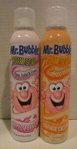 Mr Bubble Foam Soap Duo Set Banana & Grape 16oz