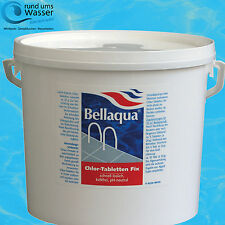 Bellaqua Chlor Fix 20g Tabletten 5kg Schock Chlor Tabs Pool Schwimmbad Bayrol