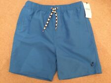 NWT MARKS & SPENCER BLUE SWIM SHORTS - 13-14 YEARS