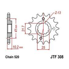 (263876) Piñon JT Yamaha XT R 660 AÑO 04-11 (15 dientes)