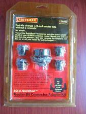 Craftsman Router Bit Connector/Adaptor Kit 926690