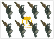 8L3E-12A366-AA Set of 8 Ignition Coils Fit Ford 4.6L, 5.4L 3V Brown Boot Great