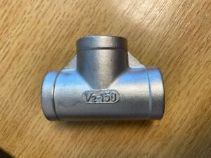 """Stainless Steel Tee BSP Female 1/2"""""""