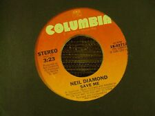 "NEIL DIAMOND On My Way To The Sky/Save Me 7"" 45 early-80's pop-vocals"