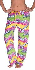 Nestle Licensed Womens Plush Fleece Lounge Pajama Sleep Pants Laffy Taffy M