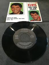 Disque 45 tours Elvis Presley - Do The Clam - 3-20886 / Comme neuf - NM (Spain)