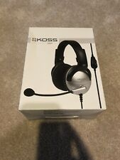 Koss SB49 Over-the-Head Communication Headphones - Black/Silver; Unopened Box
