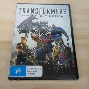 TRANSFORMERS - Age of Extinction (2014) DVD NEW + SEALED (Tracked Post)