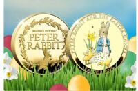 BEATRIX POTTER PETER RABBIT AND THE EASTER CHICKS LTD EDITION OF 495!! GOLD!!