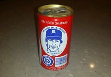 Awesome 1984 World Champions Detroit Tigers Coca Cola empty can Doug Baker