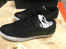 DS MENS CONVERSE BLACK LEATHER CTX OX STYLE 119082 SZ 7.5 Max Air Free Ship