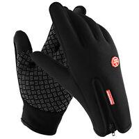 Windproof Winter Ski Snow Gloves Touch Screen Warm Thermal Mittens Men Women US