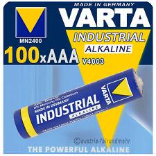 """""""100x VARTA Batterie MICRO AAA V4003 LR03 INDUSTRIAL"""