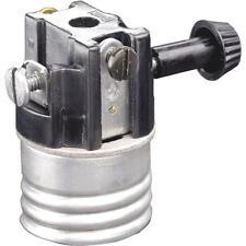 100 Pk Leviton Interior Turn Knob 250W Lamp Light Bulb Socket 101-07070-00M