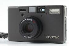 [NEAR MINT w/Strap] Contax T3 Black 35mm Point & Shoot Film Camera From JAPAN