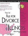 How to File for Divorce in Illinois (Legal Survival Guides)-ExLibrary