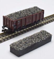 232 FLEISCHMANN Piste N chute de matières wagons type E 820513 8205 11 du ballast gris neuf dans sa boîte