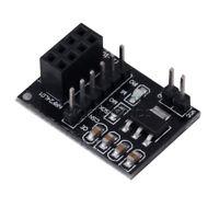 10pcs Socket Adapter plate Board F 8Pin NRF24L01+ Wireless Transceive module 51