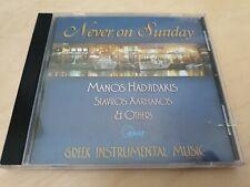 Manos Hadjidakis, Never On Sunday - Original Soundtrack  Cd *USED*