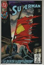 New Listing Superman #75, The Death Of Superman (1993) Nm+ 9.6