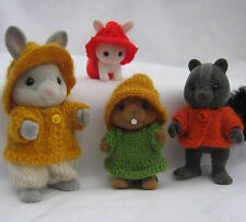Knitting Pattern collectionneurs vêtements, rustique: Sylvanian Families, Calico Critters
