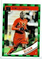 2019 Panini Donruss Soccer Romelu Lukaku (Belgium) Press Proof Green