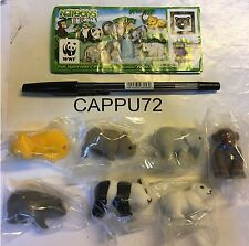 CUCCIOLI DA SALVARE WWF-7 PZ.+7 BPZ ITALIA-Da DC018 a DC024 kinder 2011/2012