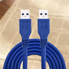 6Ft USB 3.0 Super Speed 5Gbps Type A Male to Male Cable Cord Connector Wire Plug