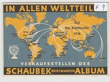 994, Privat Ganzsache Schaubek Briefmarken Album 1938 !