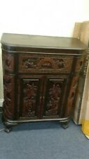 Vintage Wood Chinese hand carved Bar Coffee table stacked Table set Local pickup