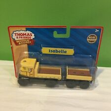 BRAND NEW RARE Thomas & Friends Wooden Railway Isabella w/ Trailer  SHIPS FREE