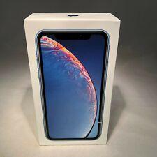 Apple iPhone XR 128GB Blue Verizon Unlocked - BRAND NEW + Apple Warranty